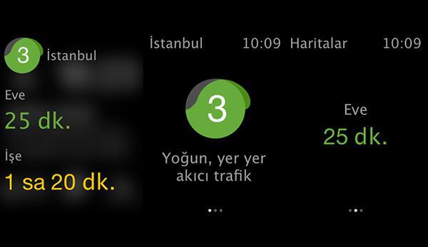 iOS için Yandex.Haritalar, Apple Watch desteğine kavuştu