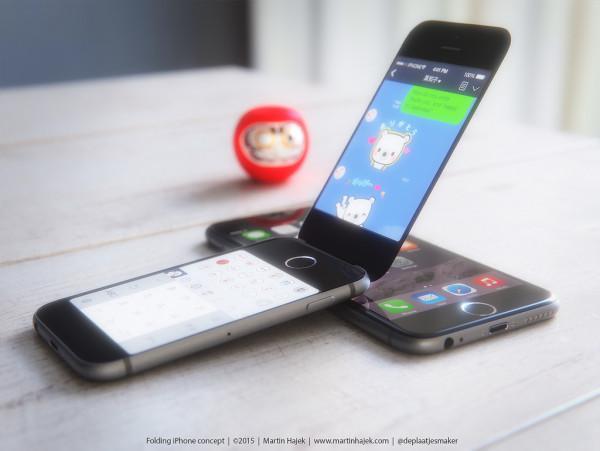 Kapaklı iPhone konsepti internette büyük ilgi gördü