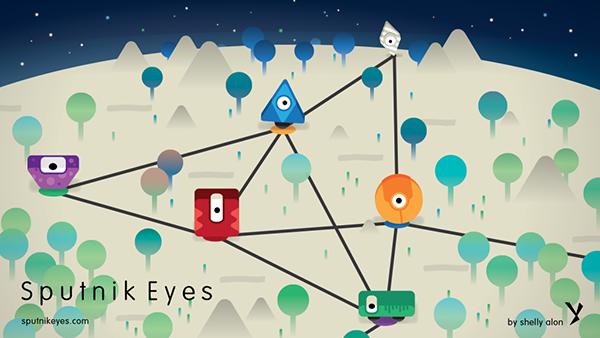 Bulmaca oyunu Sputnik Eyes, iOS kullanıcılarıyla buluştu