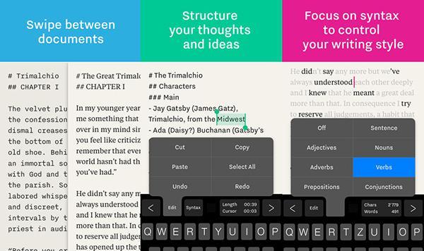 iOS uyumlu profesyonel yazı uygulaması Writer Pro indirime girdi