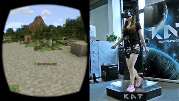 Virtuix Omni'ye yeni rakip geldi: Kat Walk
