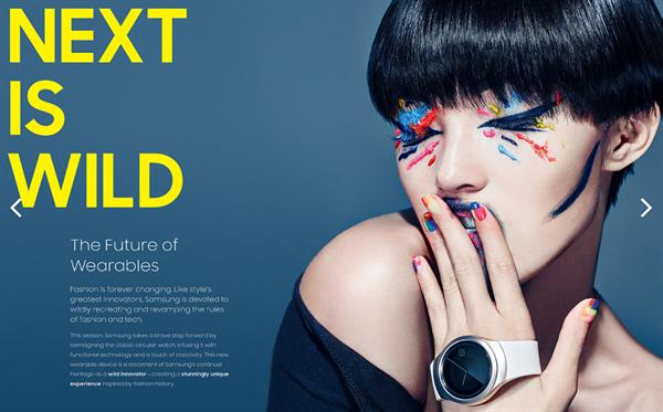 Samsung yeni yuvarlak ekranlı akıllı saati Gear S2'nin görüntülerini yayınladı