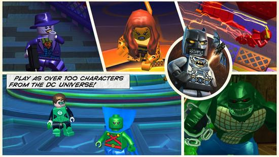 Lego Batman: Beyond Gotham Android'de