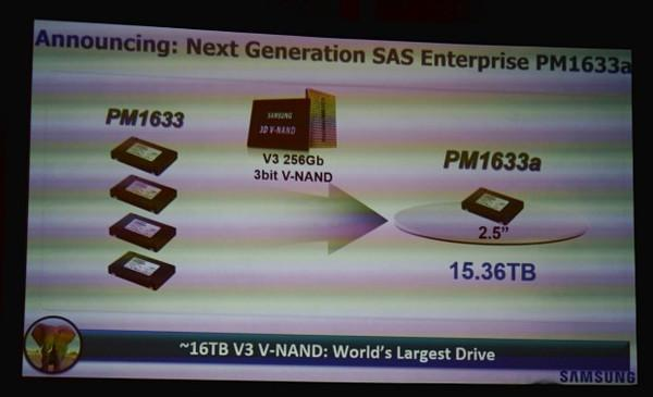 Samsung dünyanın en büyük kapasiteye sahip depolama sürücüsünü duyurdu