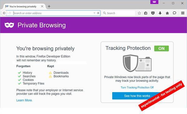 Firefox'un gizli gezinme özelliği artık bilgilerinizi daha sıkı saklayacak