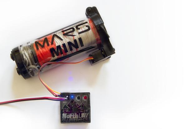 Drone'lar için otomatik paraşüt sistemi: Mayday
