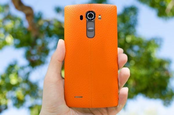 LG G4 deri kaplama arka kapağı detaylandı