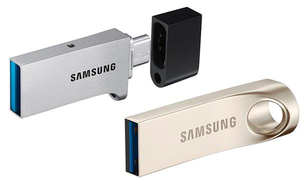 Samsung'dan şık tasarımlı yeni USB 3.0 bellekler