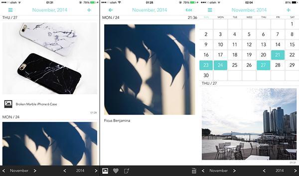 iOS uyumlu günlük uygulaması Ordinary Days yeniden ücretsiz