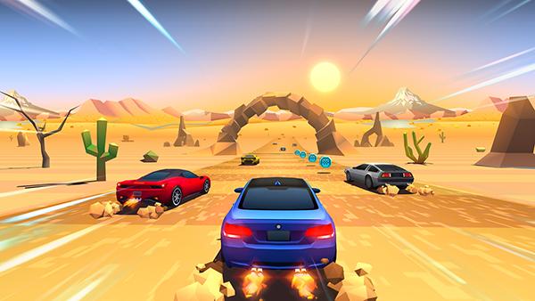 Arcade tarzdaki yarış oyunu Horizon Chase, Appstore'daki yerini aldı