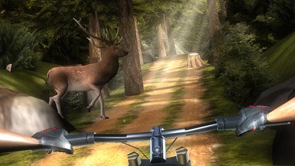 Birinci şahıs kamera açısından oynanabilen sonsuz koşu oyunu Bike Dash, Appstore'daki yerini aldı