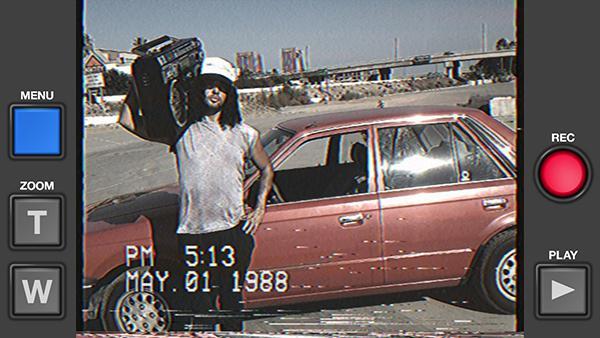 Geçmişe götüren yeni iOS uygulaması: VHS Camcorder