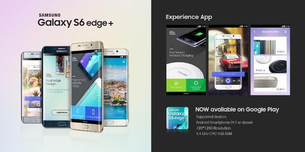 Samsung Galaxy Note5 ve Galaxy S6 edge+ deneyim uygulamaları indirmeye sunuldu