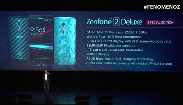Asus'tan 256GB kapasiteli ZenFone 2