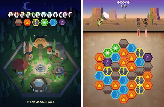 Puzzlemancer yeni bir renk eşleme-aksiyon oyunu