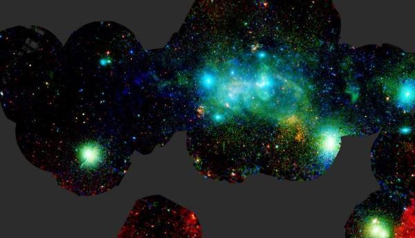 ESA Samanyolu'nun merkezini görüntüledi