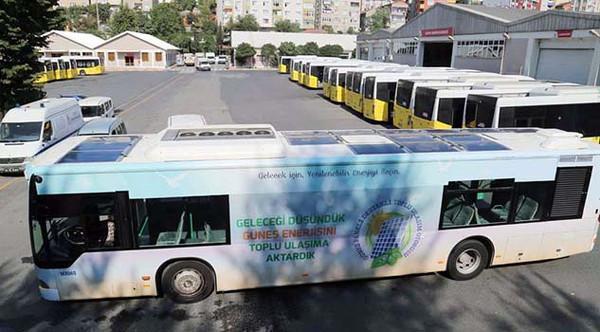 İETT, ülkemizin ilk güneş enerjili toplu taşıma otobüsünü geliştirdi