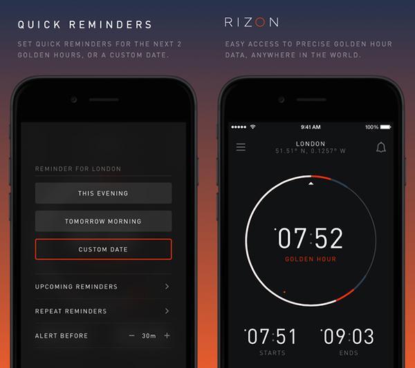 Fotoğrafçılara özel yeni iOS uygulaması: Rizon