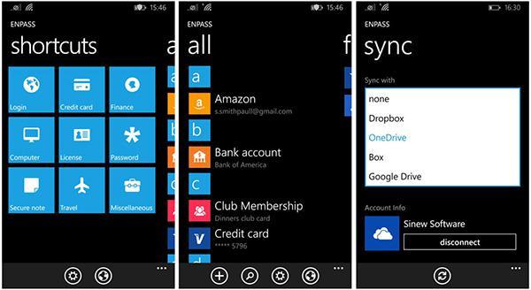Windows Phone ve Windows için Enpass bugün ücretsiz