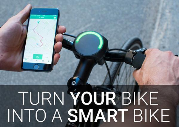 SmartHalo ile bisikletinizi akıllı hale getirin