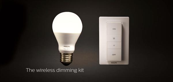 Philips'ten Hue lambalarını kablosuz kontrol edebilen özel kumanda