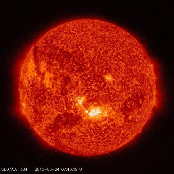 NASA'nın gözlemevi Güneş püskürtüsünü görüntüledi