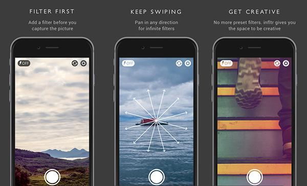 Fotoğraf odaklı yeni iOS uygulaması: infltr