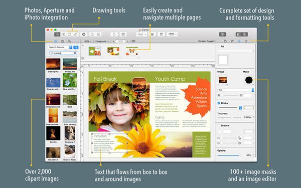 Mac platformuna gelişmiş yeni tasarım uygulaması: Swift Publisher 4