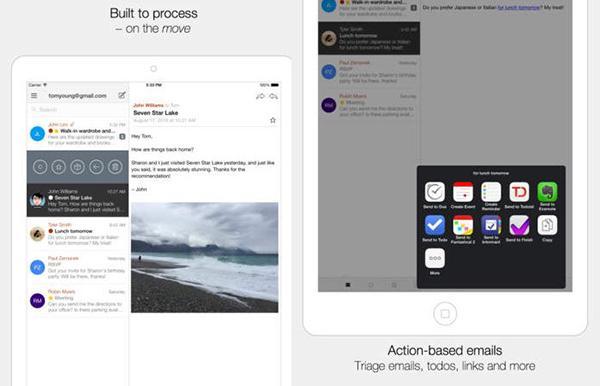 iOS uyumlu e-posta istemcisi Dispatch, iPad desteği kazandı