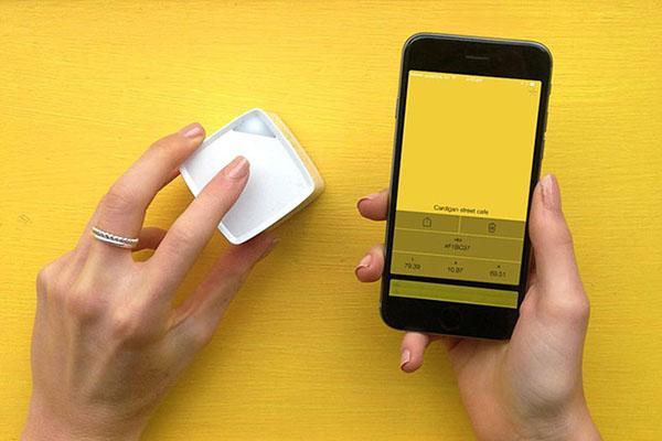 Kompakt boyutlu renk kayıt cihazı: Palette Cube