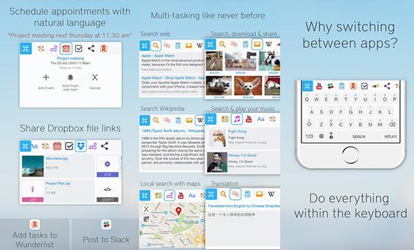iOS cihazlara çoklu görevi klavyeden getiren uygulama: ReBoard