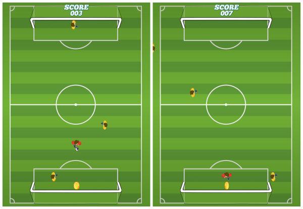 Soccer Pong ilginç bir futbol oyunu