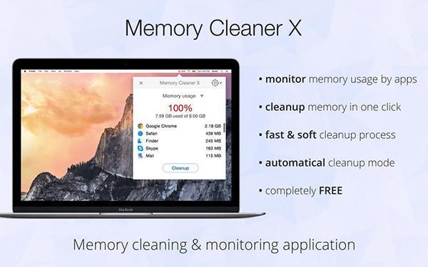 Mac için Memory Cleaner X uygulaması ücretsiz yapıldı
