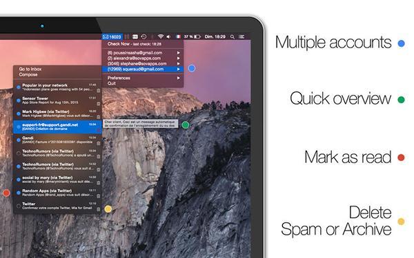Mac uyumlu Mia for Gmail ücretsiz yapıldı