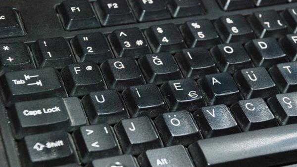 F klavyenin tüm tuşları Türkçe isimlendirilecek