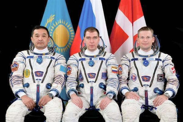 Uluslararası Uzay İstasyonu'nun yeni sakinleri yola çıkıyorlar