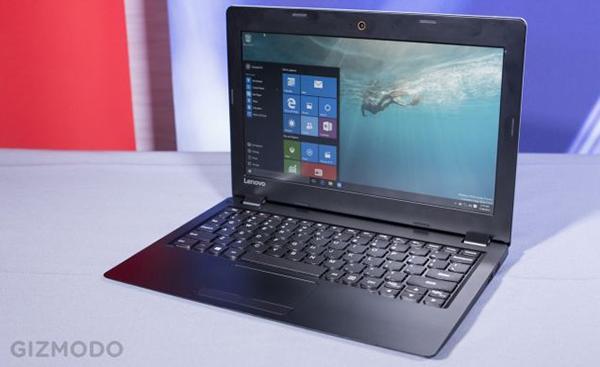 IFA 2015: Lenovo, 189$'lık Windows 10 bilgisayarı IdeaPad 100S'i tanıttı
