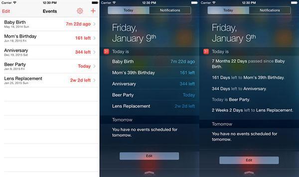 Özel günlere odaklanan iOS uygulaması Today, ücretsiz yapıldı