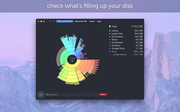 Mac için hazırlanan disk bilgi ve temizleme uygulaması DaisyDisk güncellendi