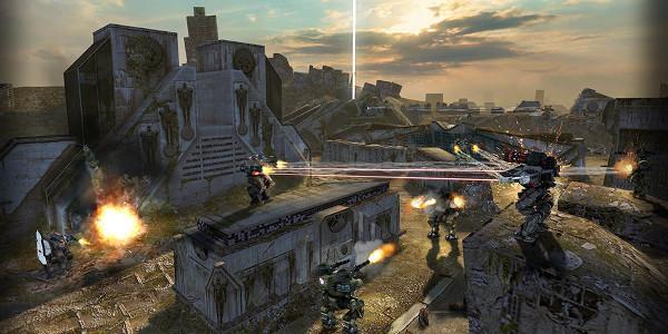 Walking War Robots ile çevrimiçi robot savaşları başlıyor