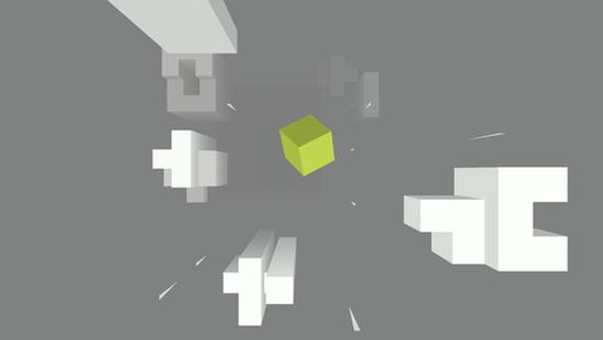 Appsolute Games'den Cube Fall sonsuz koşu oyunu