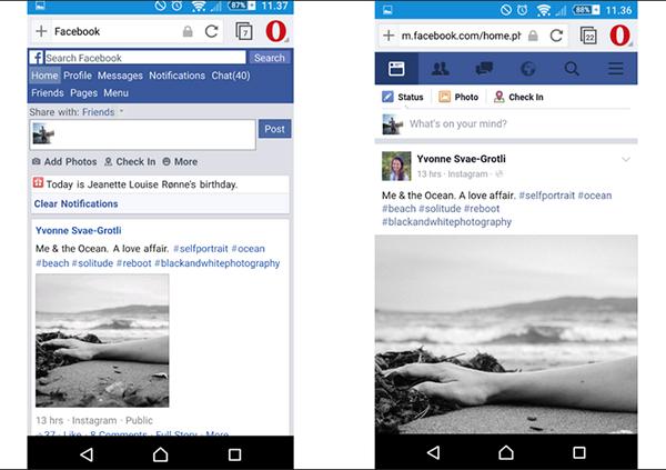 Android için Opera Mini güncellendi, yeni görüntüleme modu eklendi