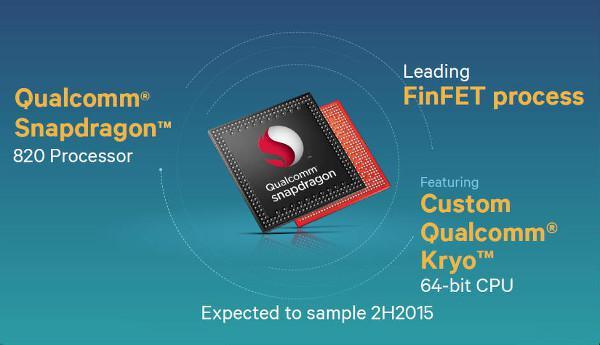 Snapdragon 820 için 30 akıllı telefon sırada