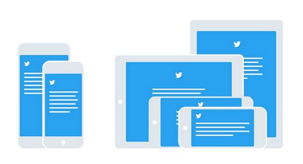 iOS için Twitter, evrensel tasarım sürecine geçiş yaptı