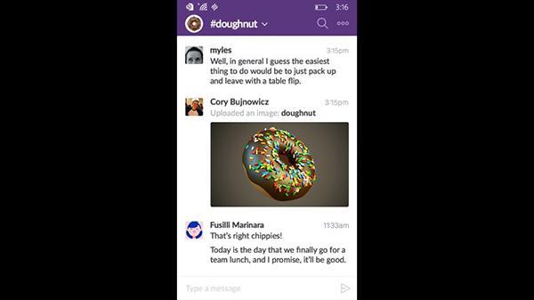 Windows Phone için Slack (Beta) yayınlandı