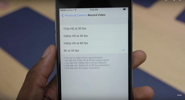 iPhone 6S serisi ne kadar uzun 4K video çekebiliyor ?