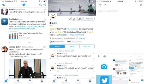 Twitter, iOS için tamamen beyaz tasarımı ülkemizde de kullanıma sundu