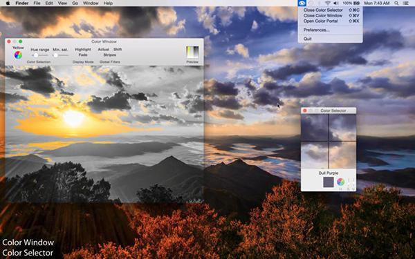 Renk körlerine özel Mac uygulaması Color Blind Pal artık ücretsiz