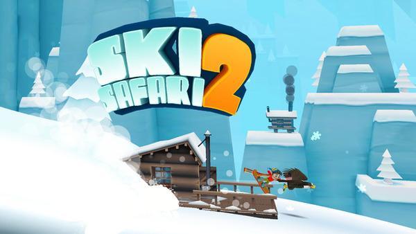 Ski Safari 2 ile heyecan devam ediyor