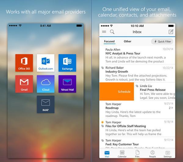 iOS için Microsoft Outlook güncellendi, iOS 9 desteği dahil önemli özellikler geldi